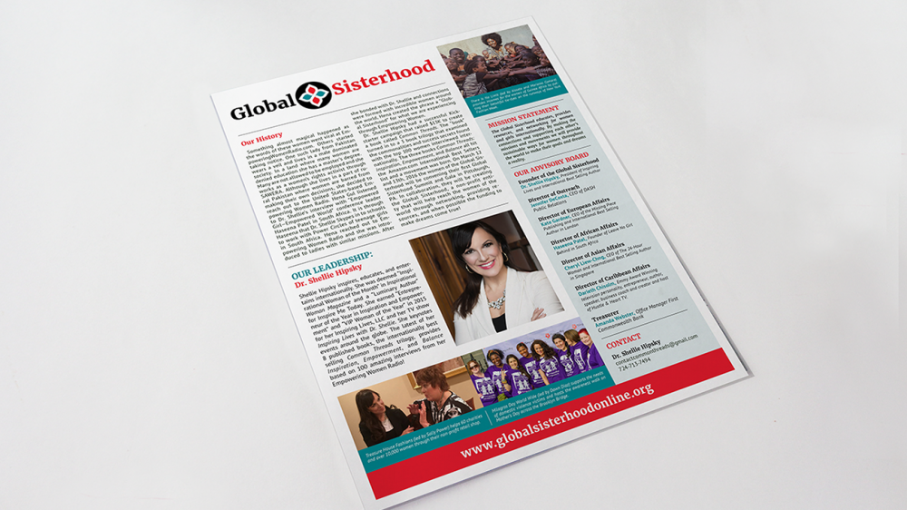 Global Sisterhood One Sheet