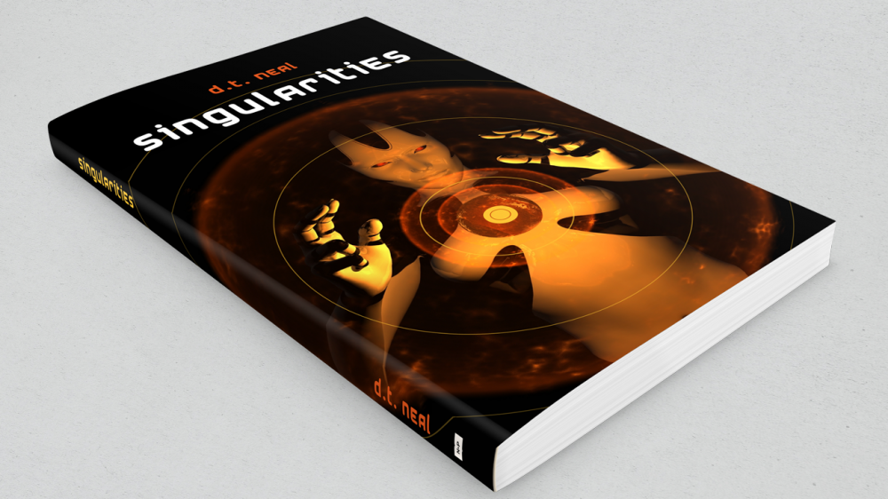 """Singularities"" Cover Design"