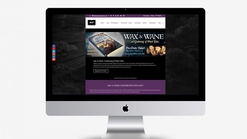 NP: Wax & Wane Site Branding