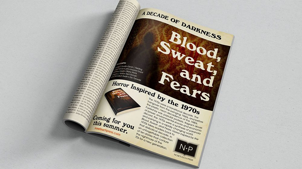 Blood, Sweat, and Fears Ad