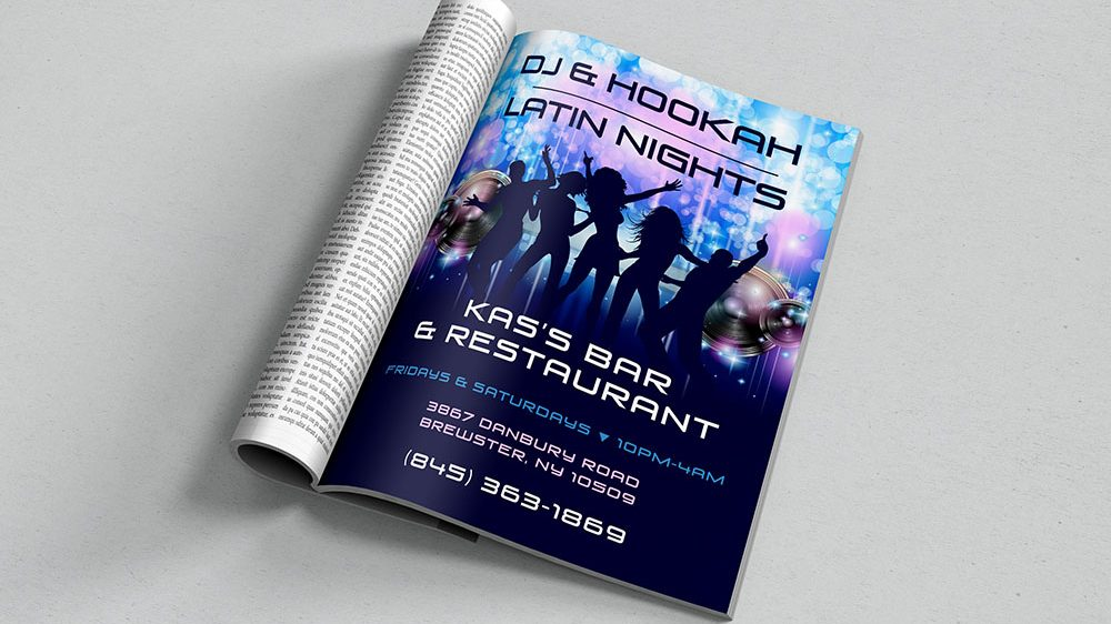 Kas's DJ Flyer