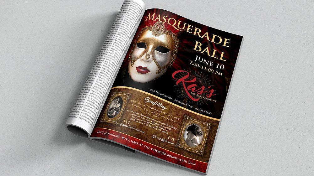 Kas's Masquerade Flyer