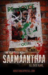 Saamaanthaa Teaser Poster
